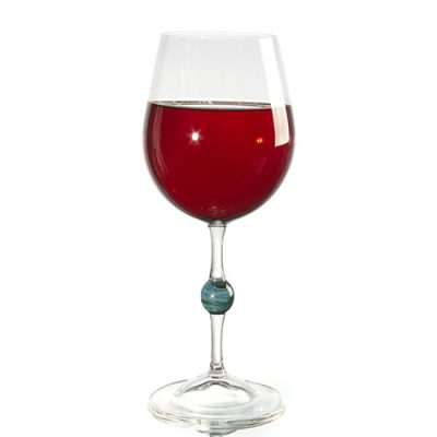 Hioki Red Wine Glass Center Marble