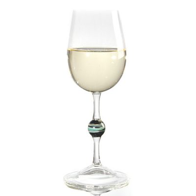 Hioki White Wine Glass Center Marble