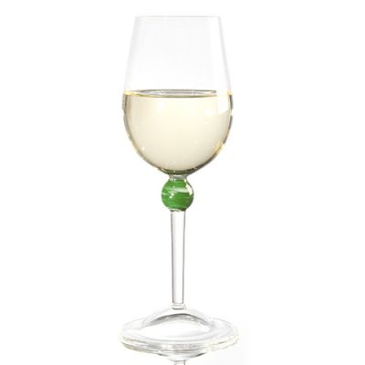 Hioki White Wine Glass Top Marble