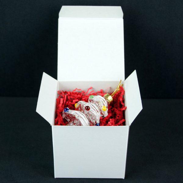Gallicchio Glass Boxed Christmas Tree Ornament